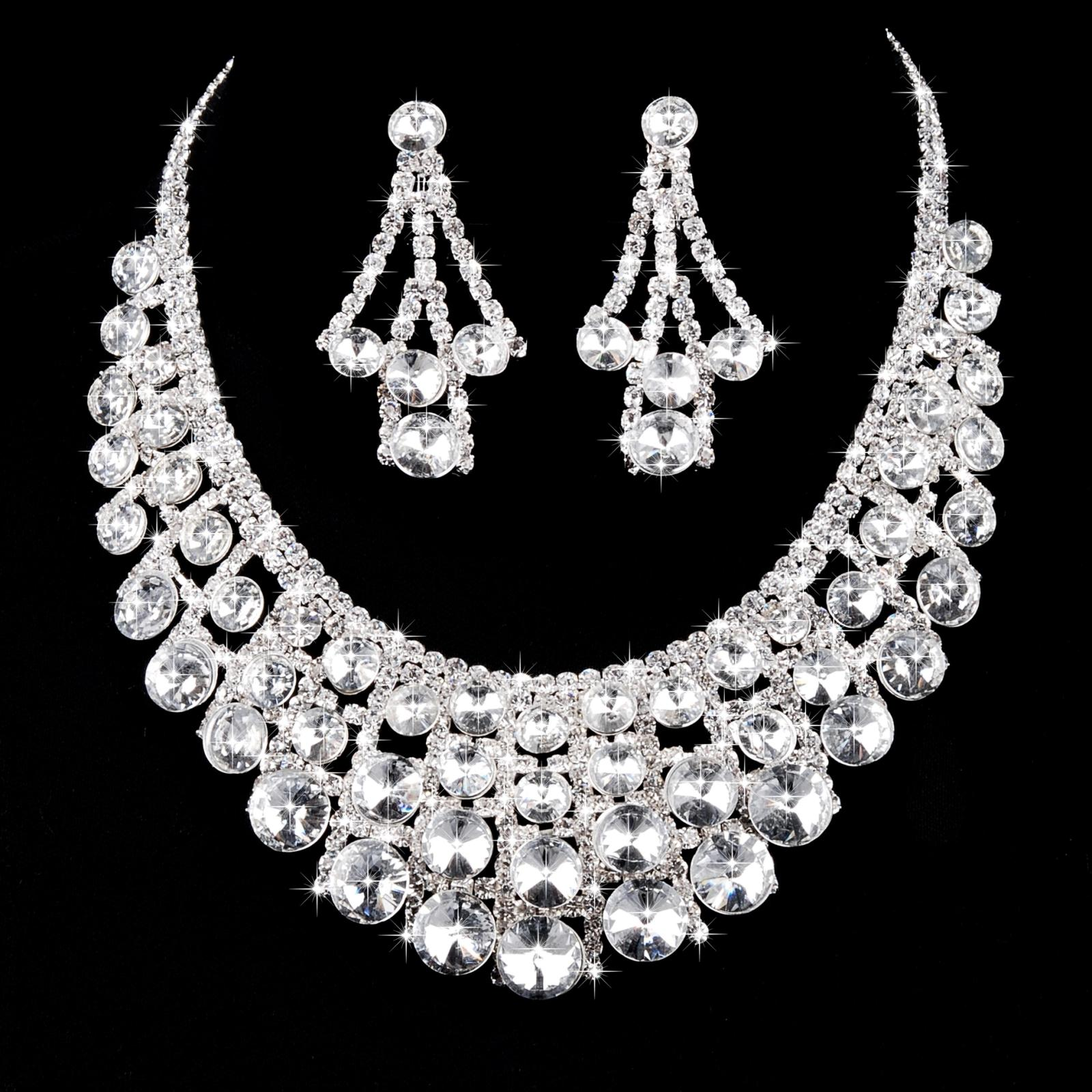 China Diamond Bridal Necklace China Diamond Bridal Necklace