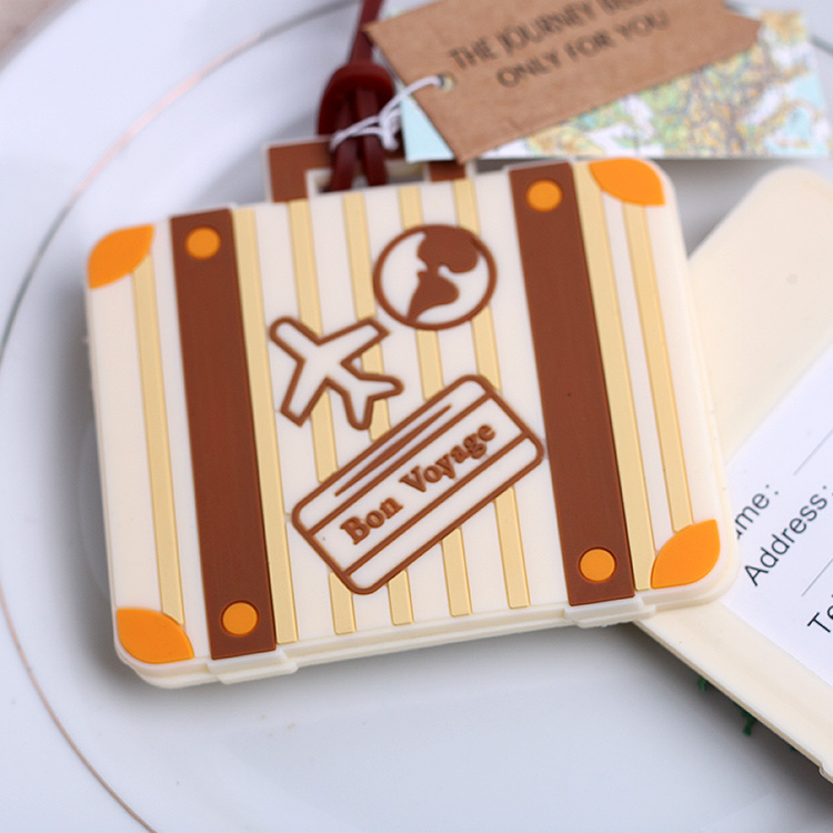 Commodities ni creative wedding favor wedding supplies luggage listing boarding card checked luggage tag luggage tag