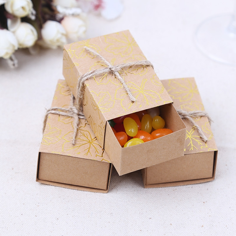 Commodities ni wedding celebration wedding candy box full moon maple creative candy box candy box personalized candy box packaging boxes