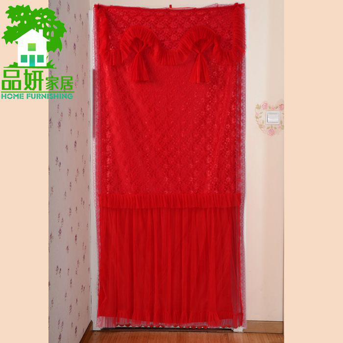 Commodities yan double lace wedding supplies wedding red curtain red curtain curtain red curtain marriage room
