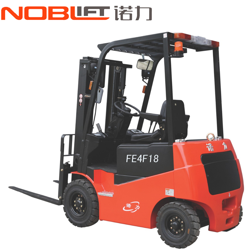 Connaught electric forklift four fulcrum electric counterbalanced forklift car steering wheel electric forklift FE4P20