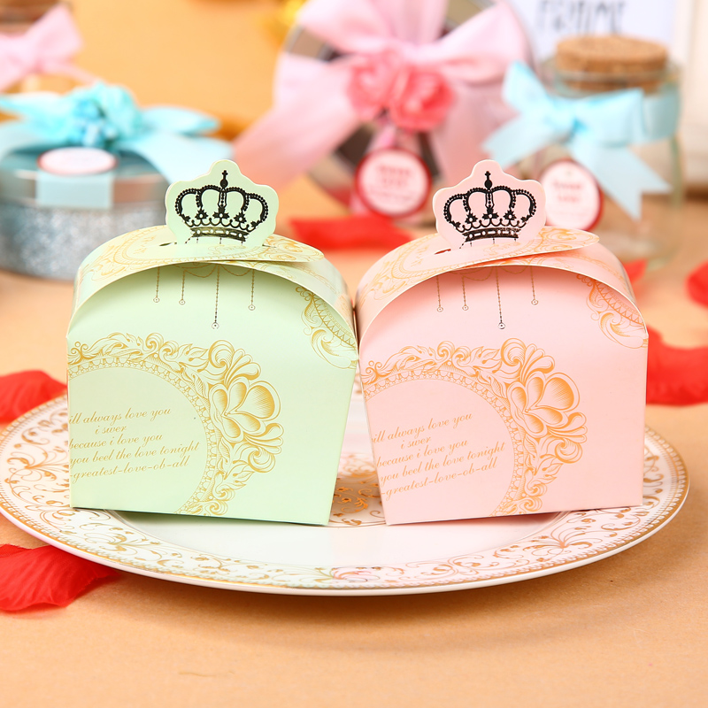 Constant still hi wedding products wedding crown wedding wedding candy box candy box creative personalized wedding candy box candy box wedding