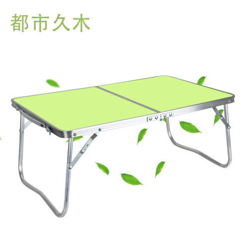 Consumer notebook computer desk bed folding computer desk simple desk outdoor aluminum tables