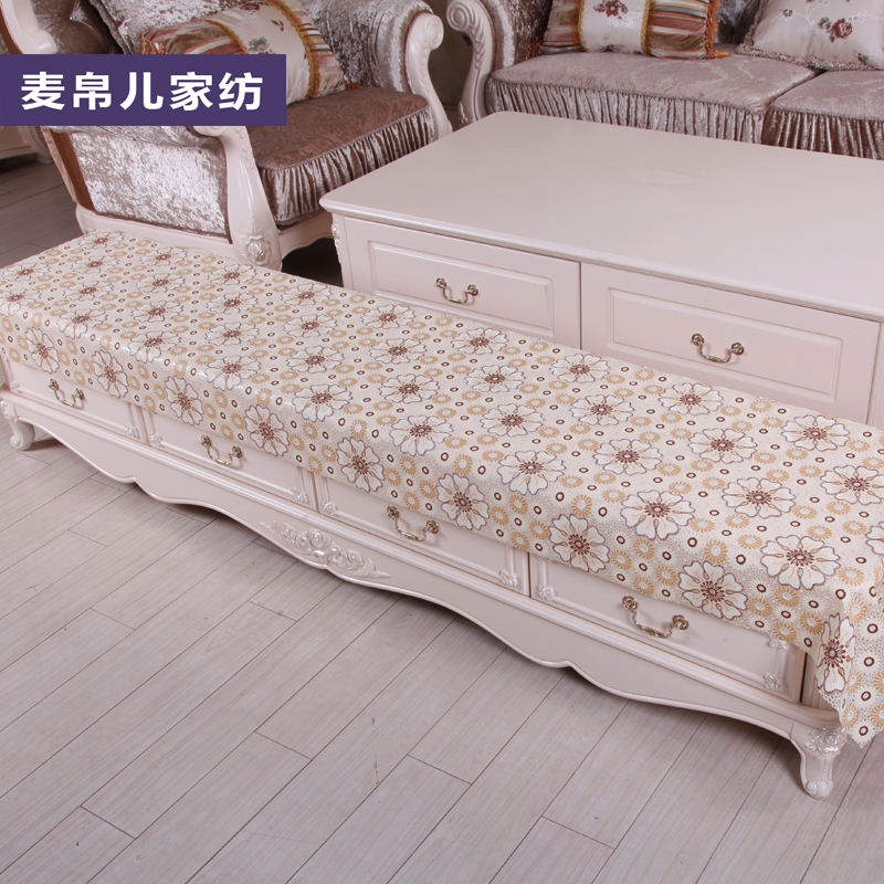 Continental dust shoe tv cabinet nightstand counter cloth pad mat pvc waterproof disposable cloth made