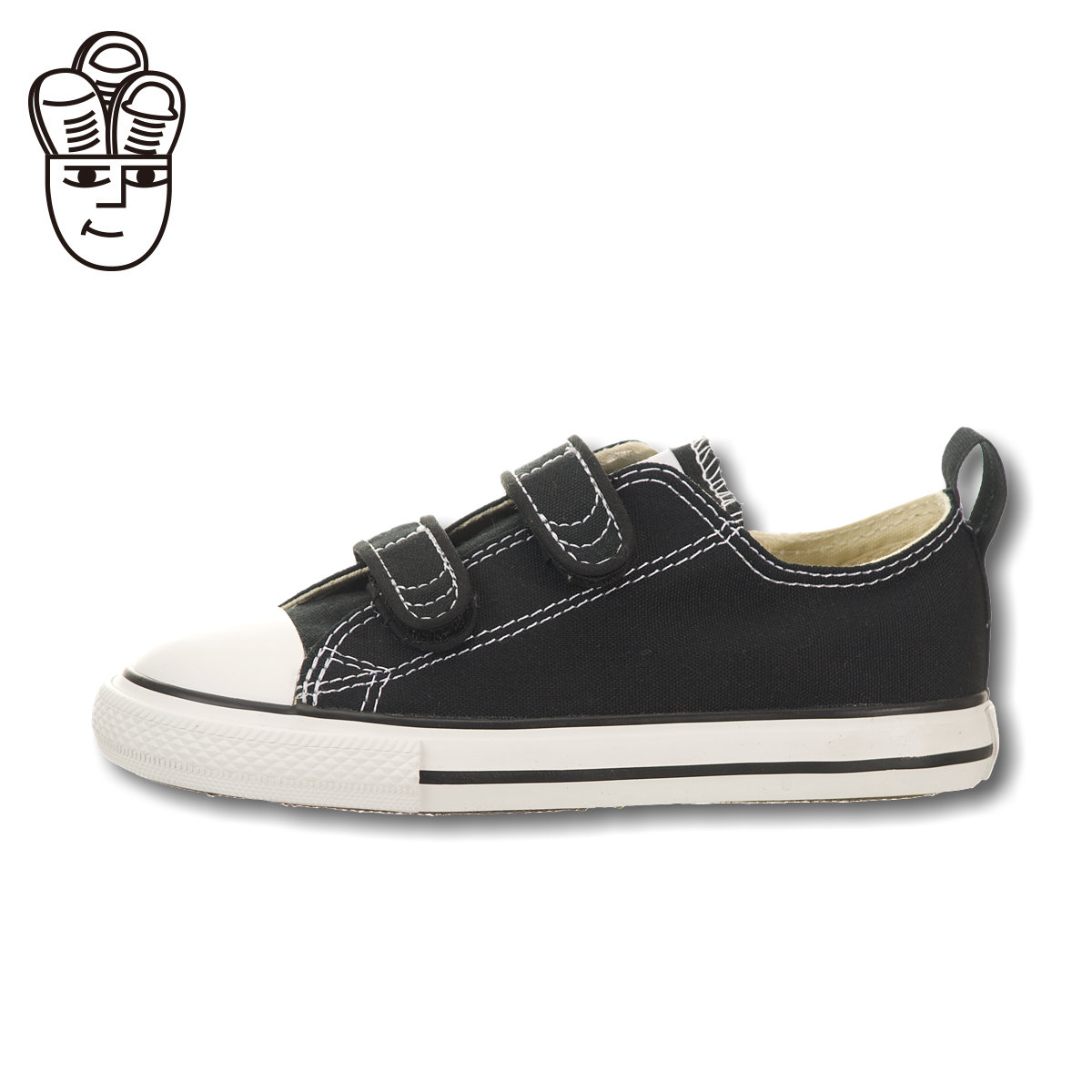 87fe429f3511 Get Quotations · Converse converse chuck taylor all star low shoes low to  help the baby in black and