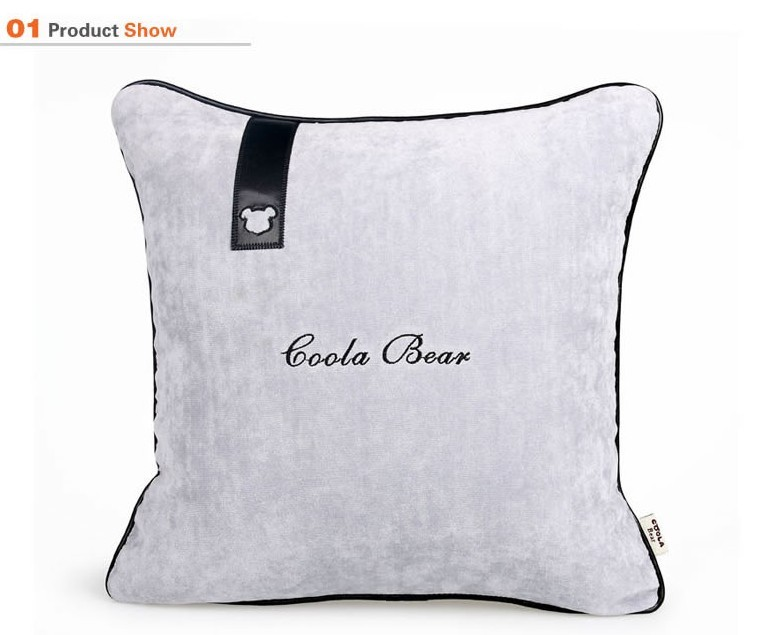 Cool latifi C-1602 supplies automotive interior car pillow cushions tournure business gray minimalist interior decorations