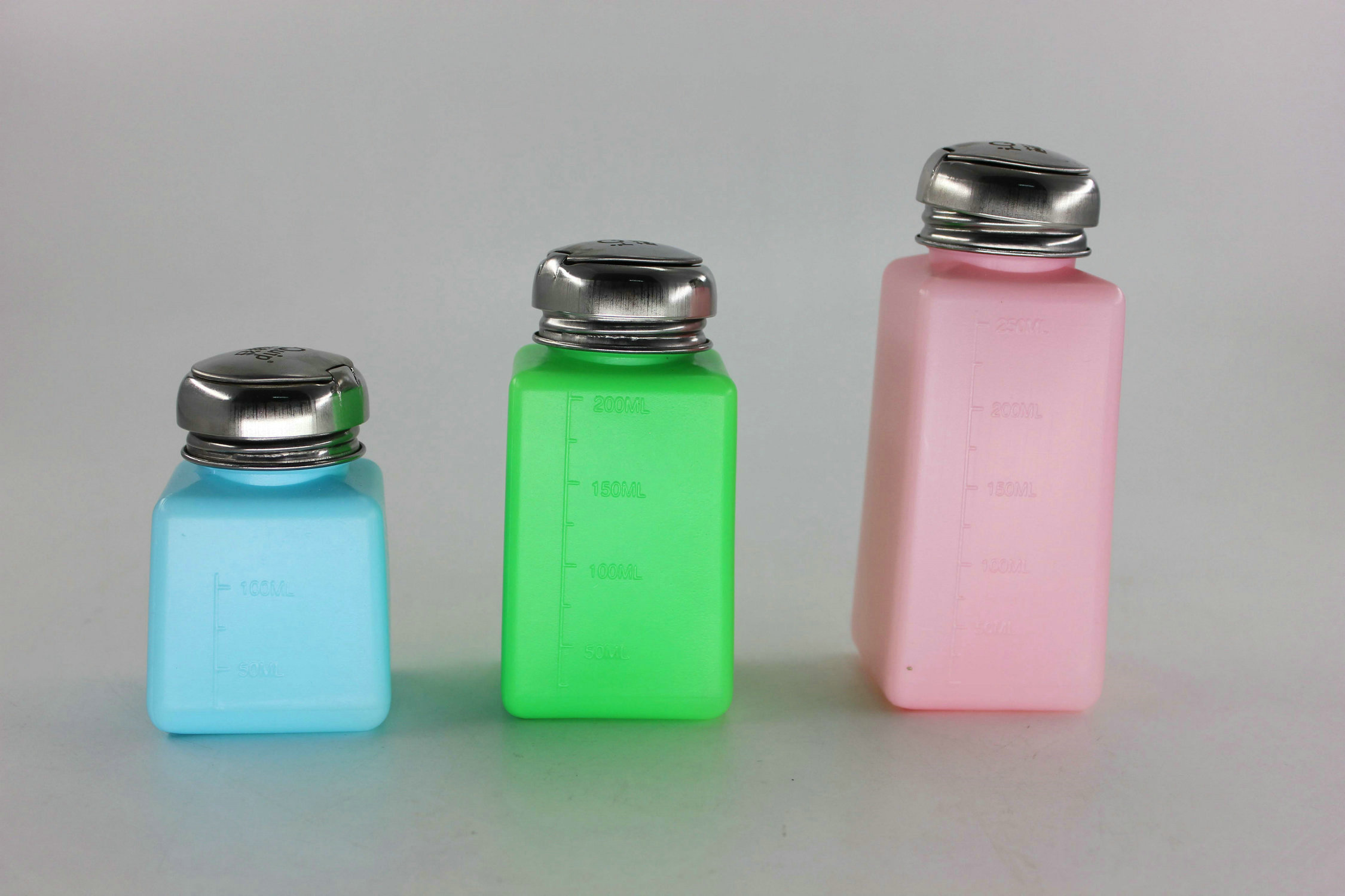 Core siliconvalley D6543 spherocrystals blue/pink/green antistatic alcohol bottles, ordinary plum nozzle