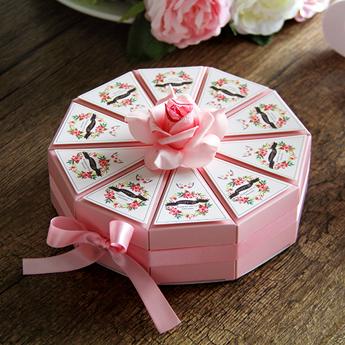 Corner love candy box candy european creative wedding wedding wedding cake box candy box candy box wedding supplies