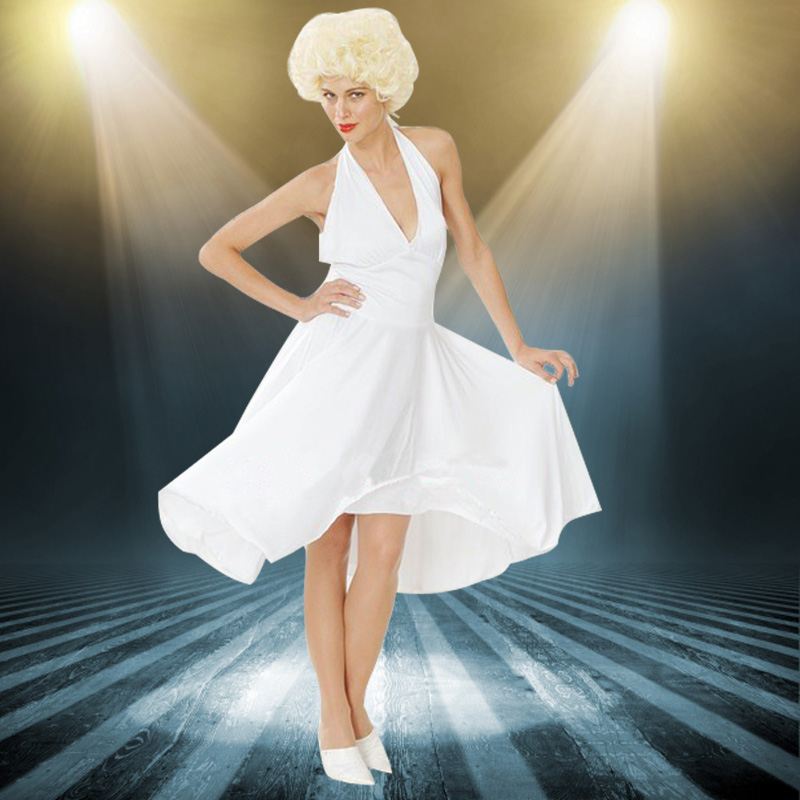Cosplay halloween costume dance costumes adult costume singer elvis costume marilyn monroe : dog marilyn monroe costume  - Germanpascual.Com