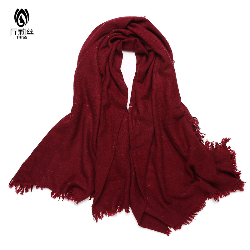 4001b6ce54686 Get Quotations · Couples wool scarf scarf versatile scarf spring and winter  wild multicolor scarf fringed shawl students