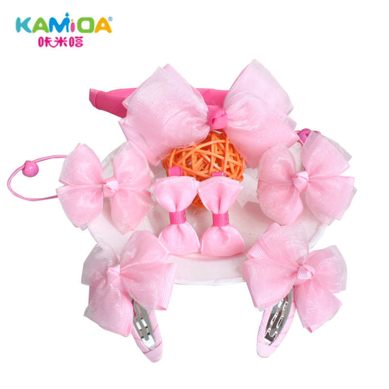 Cracking meters despair korean children hair accessories diy korean jewelry tiara hair band hair bands hairpin suit material package girls