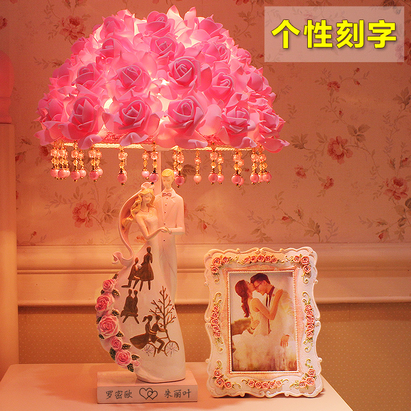 Get Quotations · Creative and practical wedding gift to send girlfriends  new wedding gifts marriage room table lamp upscale a5bb25f65809