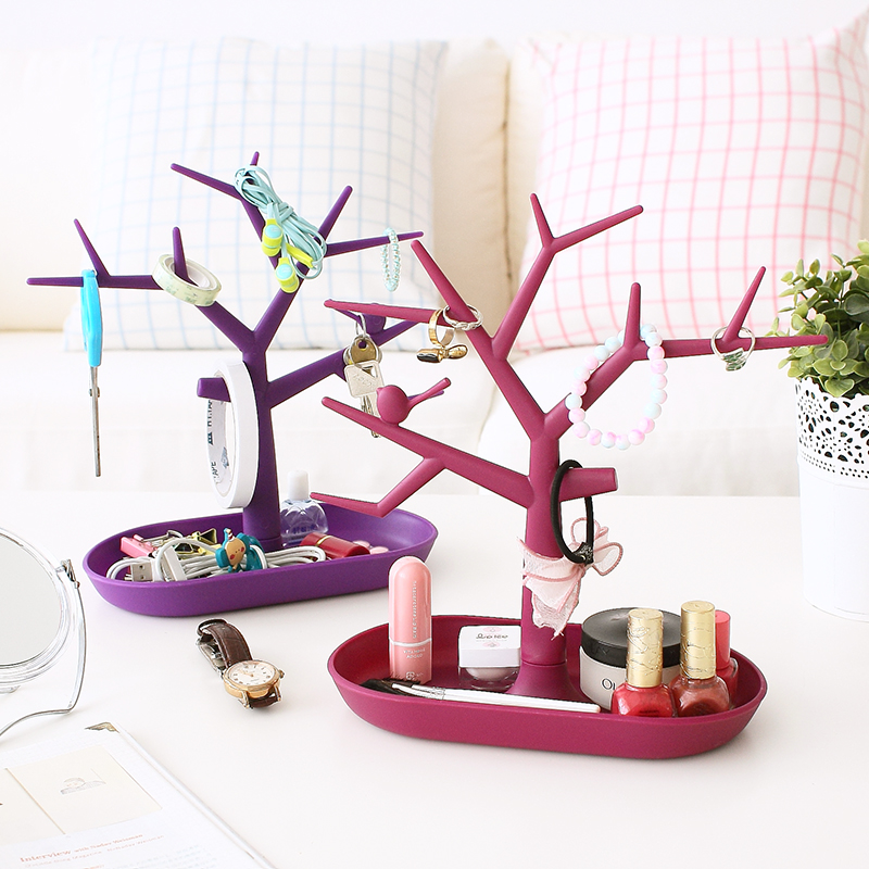 Creative branches skid bracket necklace jewelry holder jewelry rings jewelry storage rack storage rack 63069