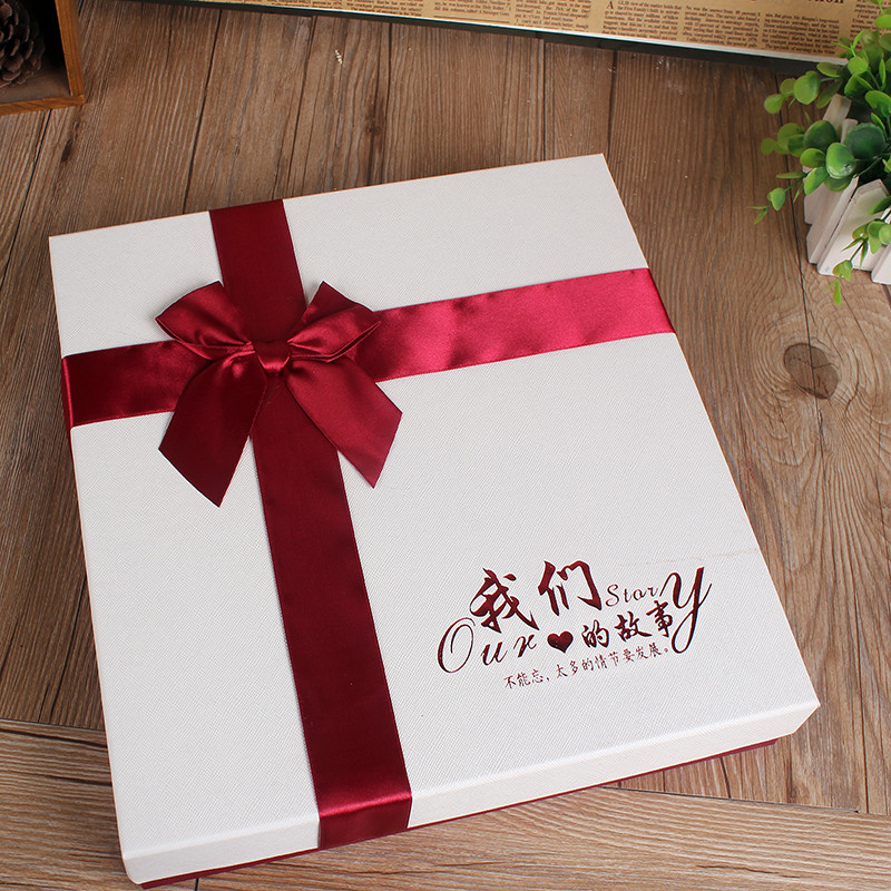 Creative handmade diy album essential listening happiness 16 album dedicated box gift box exquisite gift box