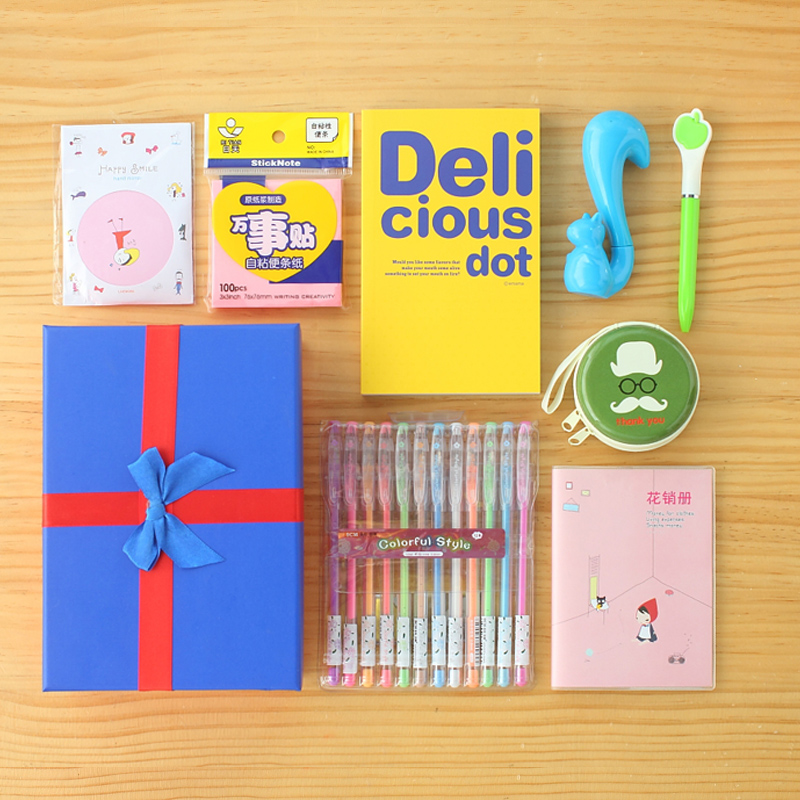 Creative school spree spree pupils learning stationery gift prizes creative stationery gift free shipping