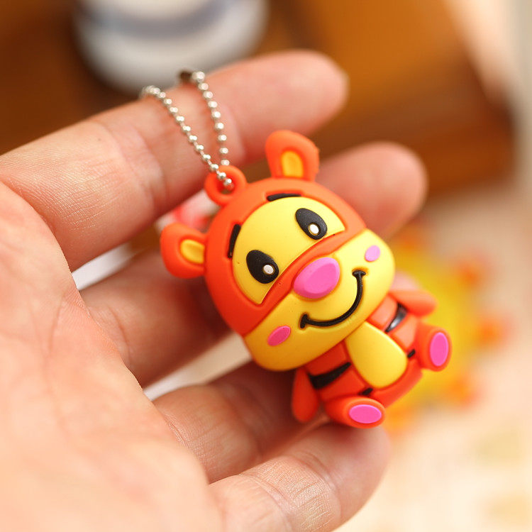 Creators 32gu little tiger cartoon usb computer notebook car universal creative u disk free shipping!