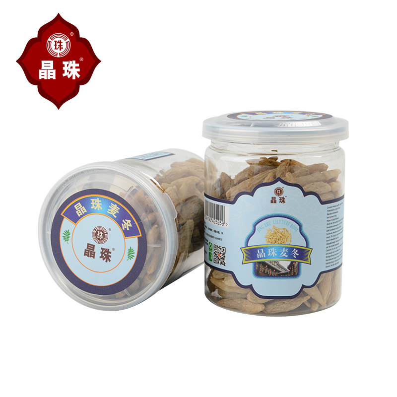 [Crystal beads] sichuan radix radix radix ophiopogon medicines free of sulfur wild [buy 1 to send a total of 1 2 cans]
