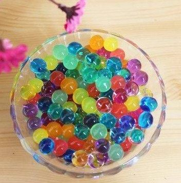 Crystal mud/crystal baby/crystal soil/ocean baby can plant flowers ornament a packet of 2000 capsules Free shipping