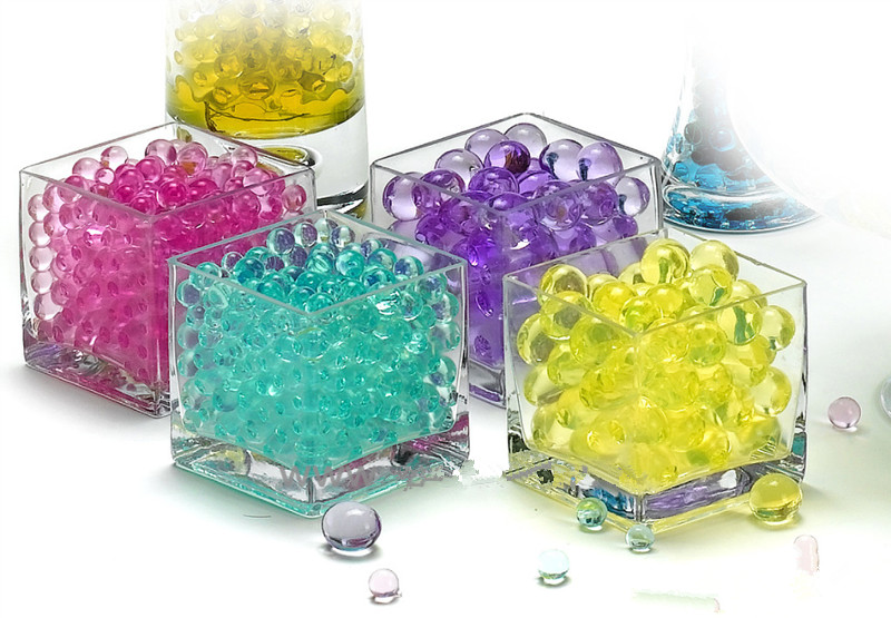 Crystal mud ocean baby absorbent beads color crystal mud crystal beads big bubble bottle bottle rainbow 3000 buy two get one