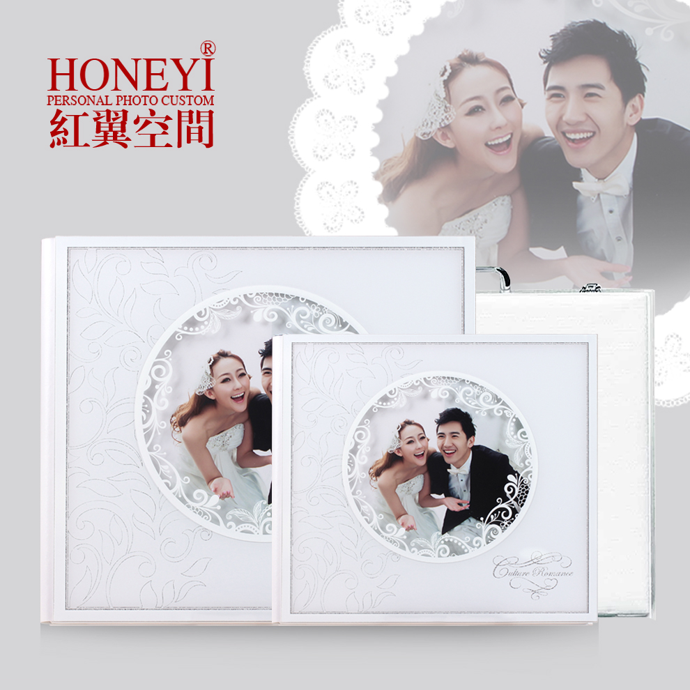 Custom wedding album production studio album 8-inch square 12 thai lena do wedding album package design