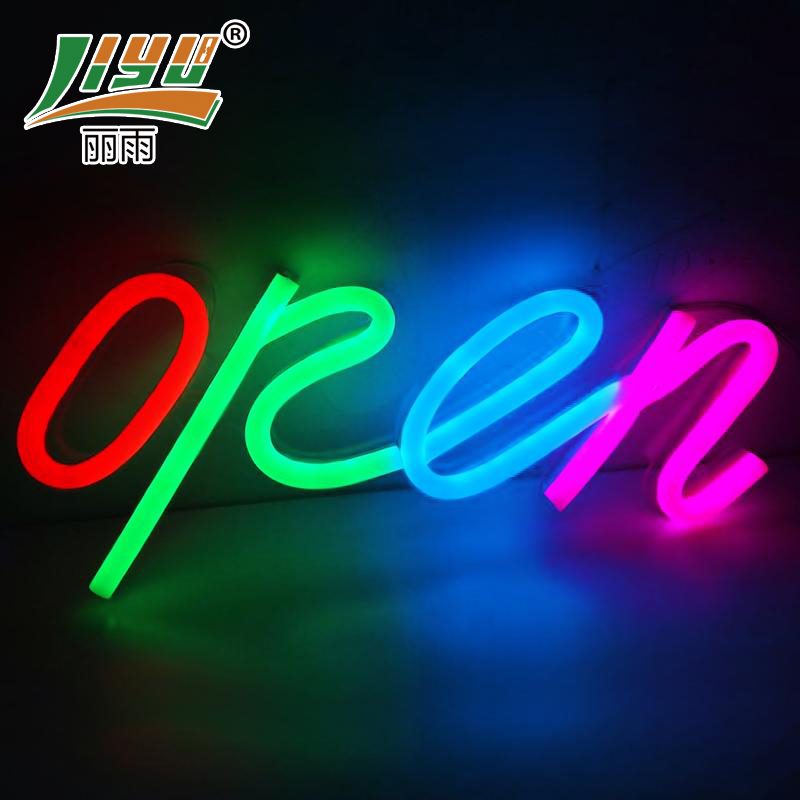 Customized liesl rain led flexible neon lights neon signé shop necessary 2015 shipping new products