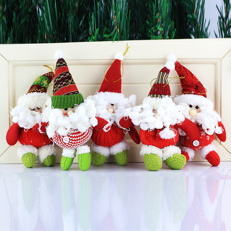 Cute santa claus christmas decorations christmas gifts christmas gifts christmas tree ornaments charm decoration