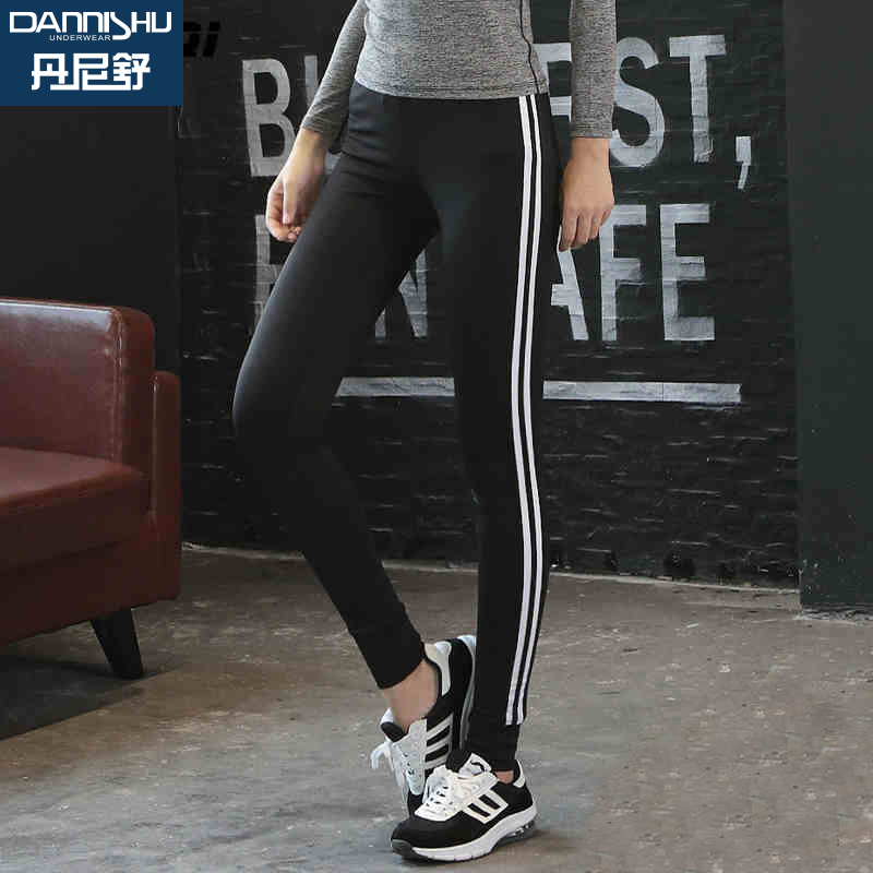 3a5663d8d582c Danni shu stretch wicking breathable jogging pants sports pants yoga pants  fitness stretch pants pantyhose was