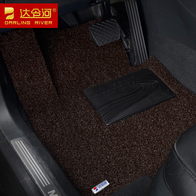 Darling wire loop mats 10 colors a quarter-28 kia cerato sportage kx3/rio ruiou european style/new maxima