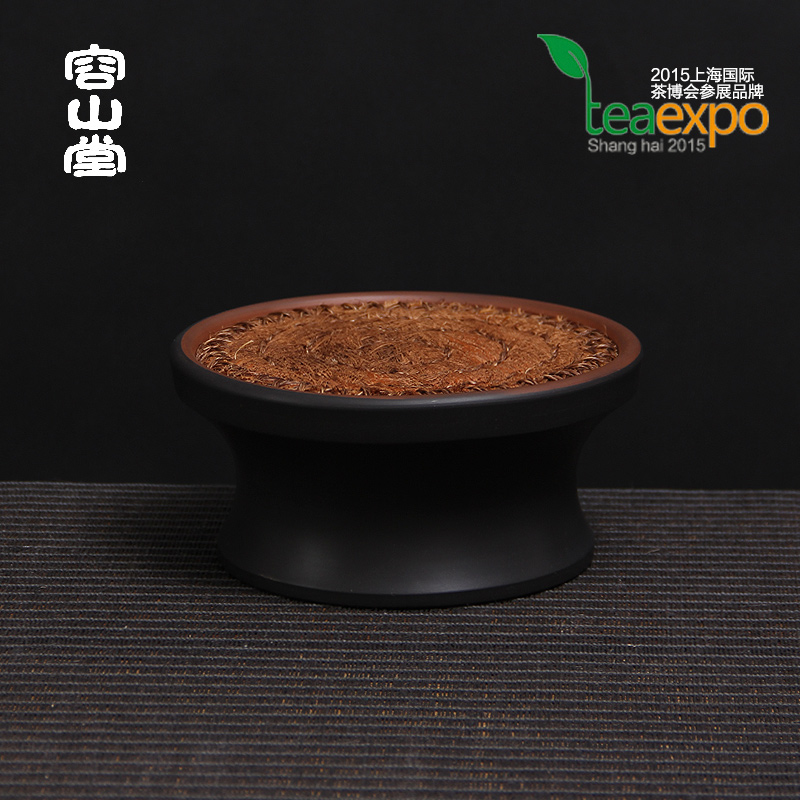 Darongshan hall preferably tripartite jianshui purple pottery pot pot bearing pad rattan small tea tray dry foam taiwan vietnam autumn rattan cane by hand