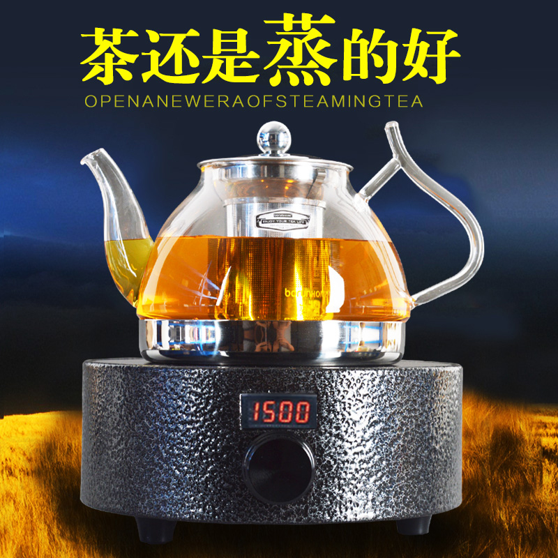 David are resistant to high temperature glass tea pot dedicated electric ceramic stove kettle teapot entire kung fu tea kettle