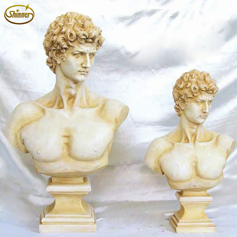 David avatar european classical figure statue statue sculpture office desktop ornaments home decor crafts