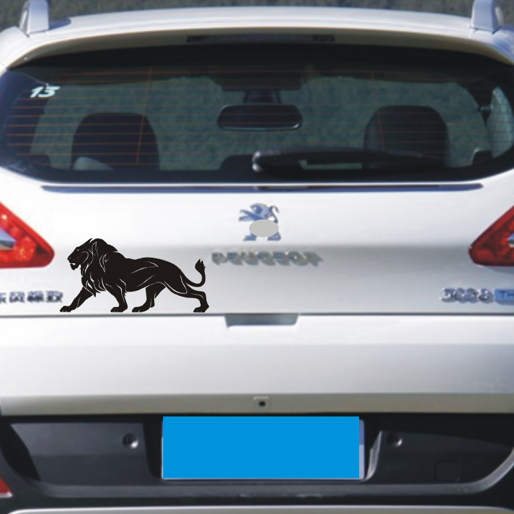 David carse reflective car stickers membrane bumper lion leopard side door stickers car stickers affixed to block scratches car stickers