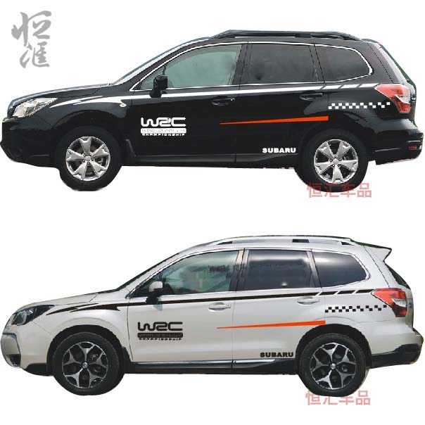David carse waistline sticker garland vehicle stickers car stickers car body dedicated subaru forester outback xv