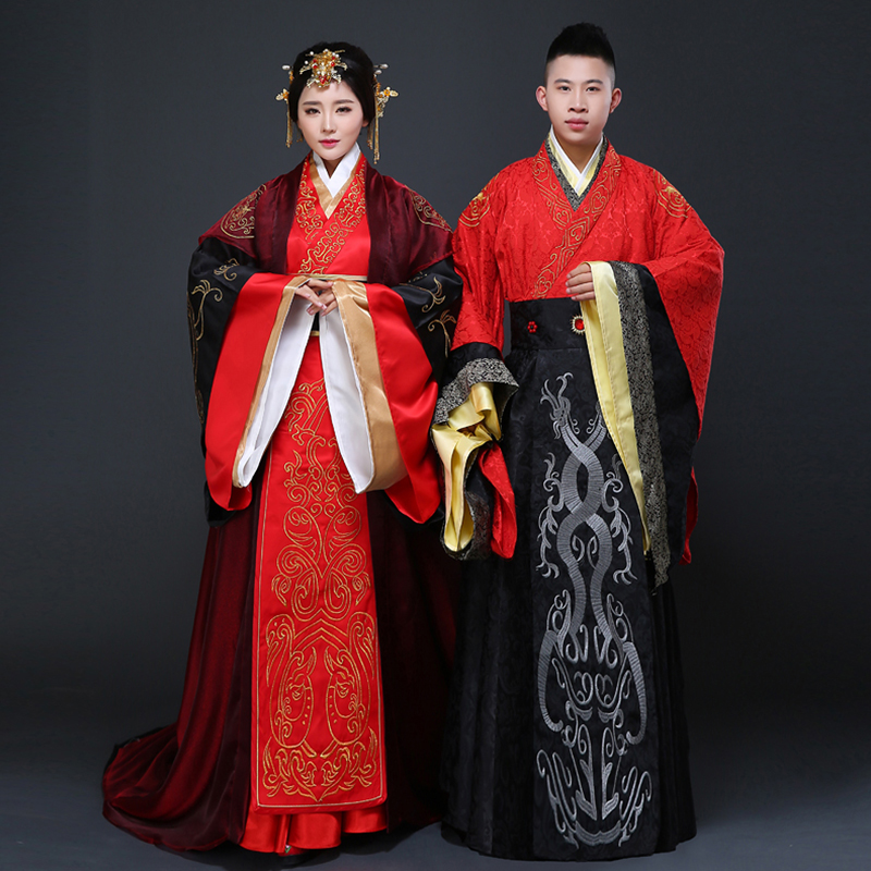Dear costume wedding dress costume han chinese clothing costume chinese wedding dress the same paragraph couple wei sub husband vintage bride wedding dress
