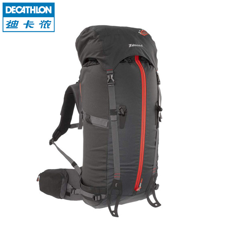 Get Quotations · Decathlon outdoor ski mountaineering backpack 55 + 10l durable  lightweight backpack simond f6dfcb16fc19f