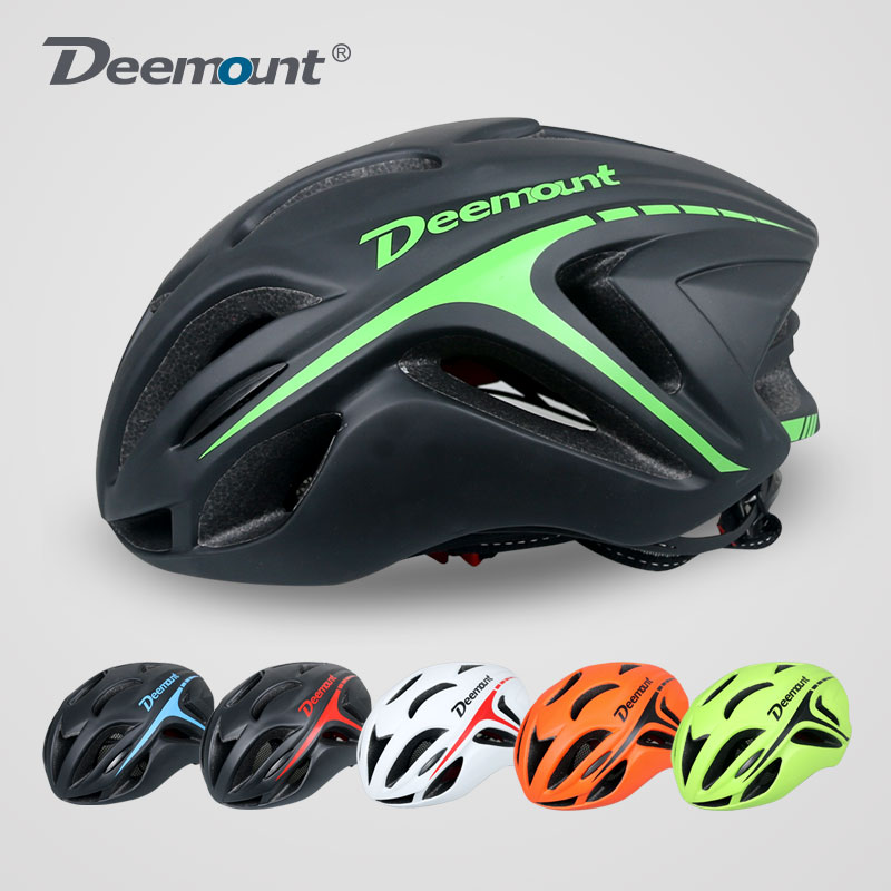 Deemount bike riding equipment aerodynamic road mountain bike helmet integrally molded helmet men and women