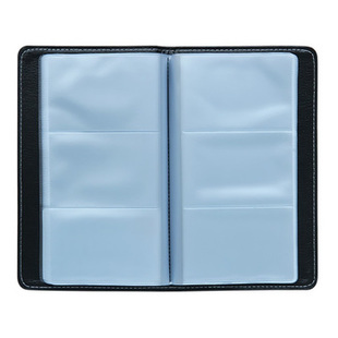 Deli 5791 business card book business card holder hard leather business card thin card this card