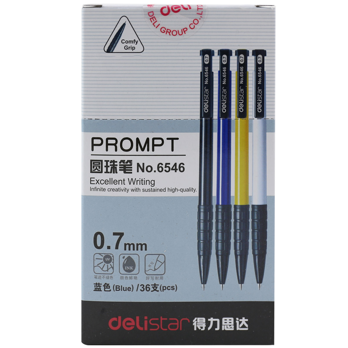 Deli 6546 deli deli pressing ballpoint pen office ballpoint pen ballpoint pen office