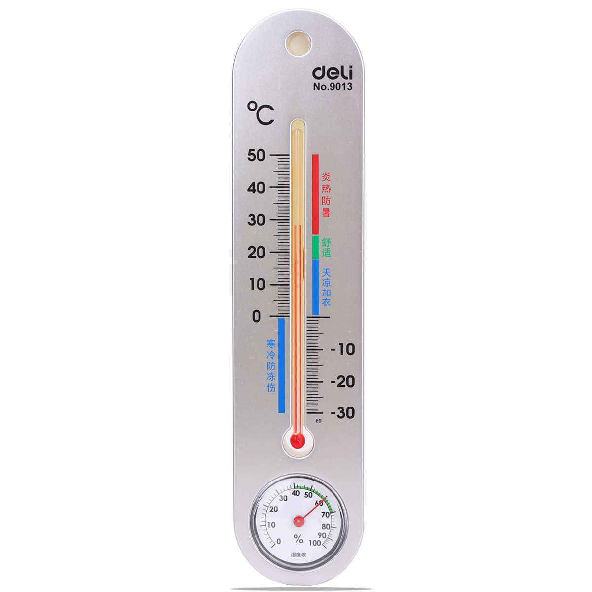 China Led Humidity Thermometer For Temperature Measurement Get Quotations Deli 9013 Indoor Hanging Can Be Hung Dual And Control