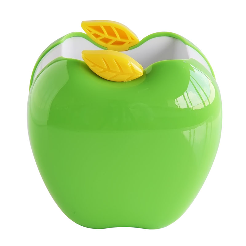 Deli/deli 9139 pen pen cute cartoon pen creative fashion apple shape high quality plastic storage