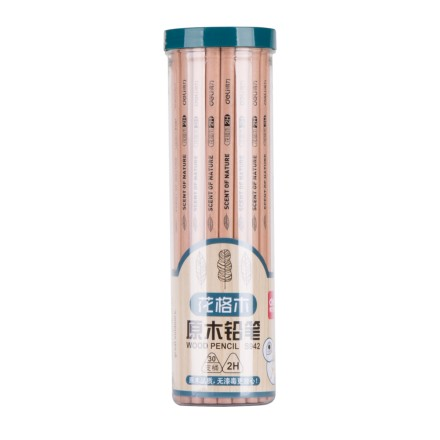 Deli deli s942/s943/s944 wood pencil hb/2 h/2b pencil 30 students loaded