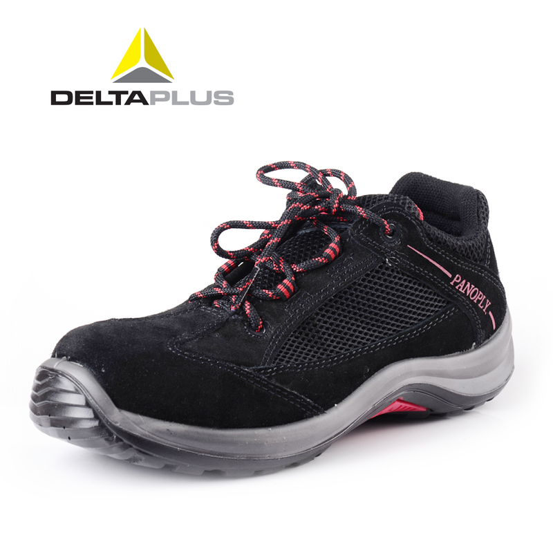 Delta safety shoes safety shoes men smashing anti puncture slip antistatic safety shoes wear and oil resistant work