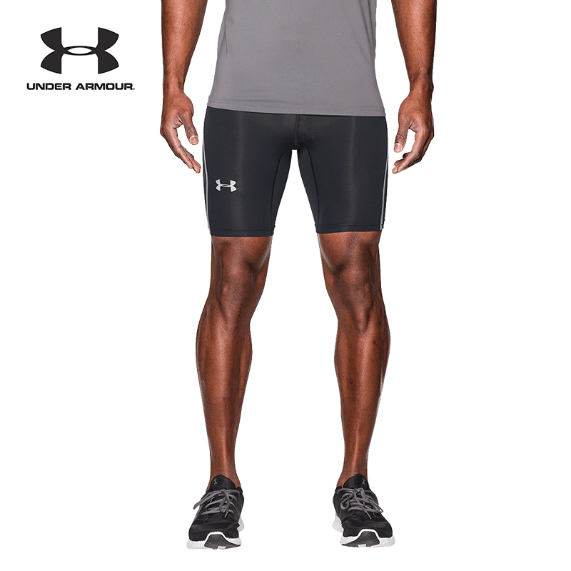 Under Armour Mens CoolSwitch Run Compression Shorts Under Armour Apparel 1274393