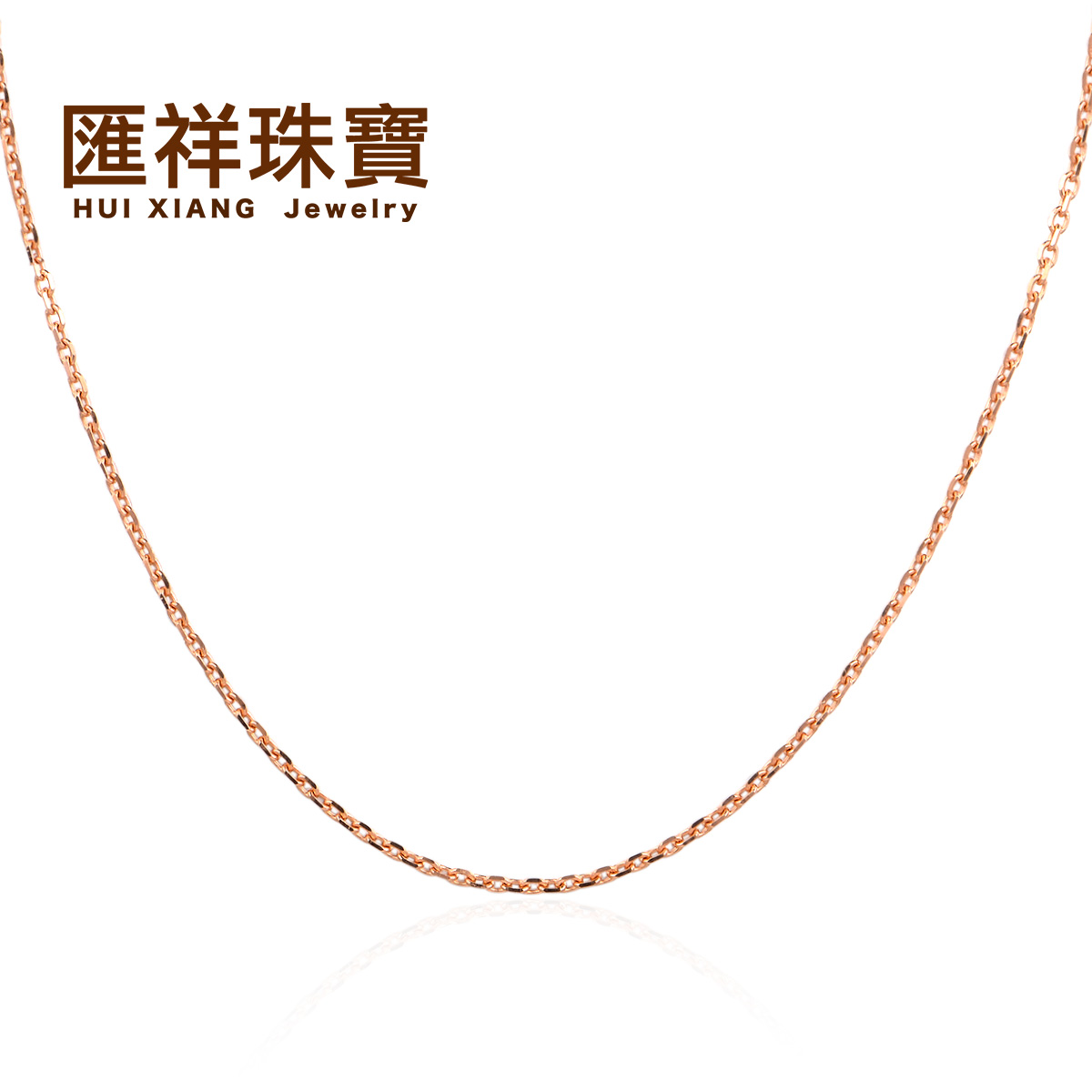 Department of cheung jewelry k gold pearl necklace rose gold color gold cross necklace wild simple clavicle chain free shipping
