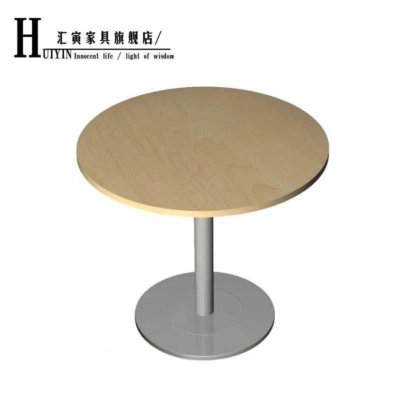 Department of yin small glass round table negotiating tables and chairs tables and chairs office furniture reception desk conference tables simple and stylish office furniture