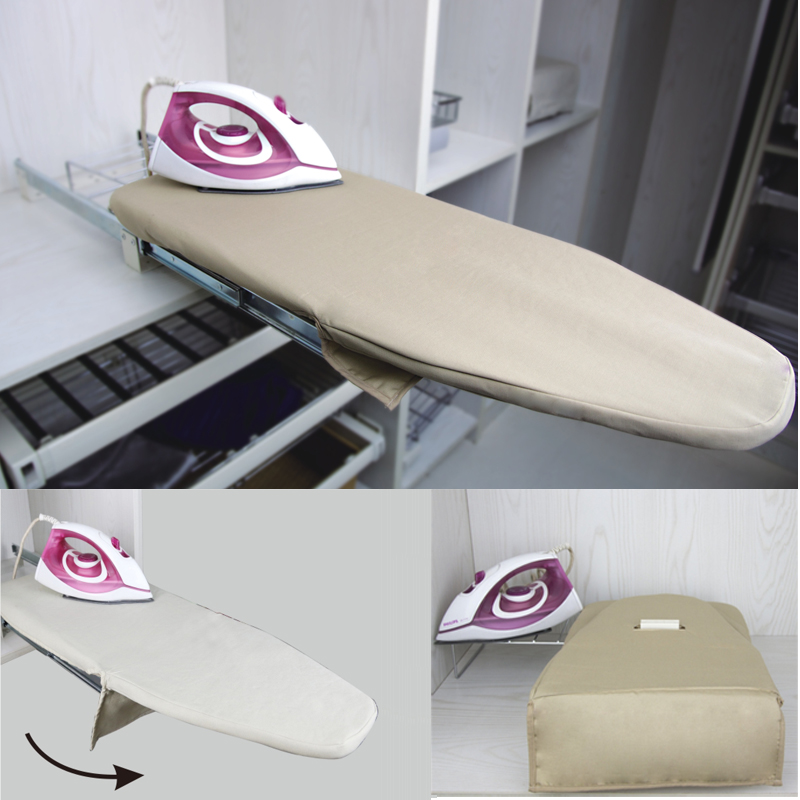 Diamond lady wardrobe hardware cloakroom hidden wardrobe rotating folding ironing board ironing board ironing board ironing board
