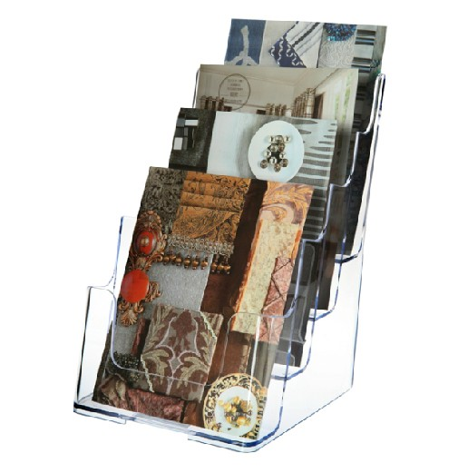 Dido 77901 four layers directory display rack propaganda newspaper rack frame data frame document holder a5