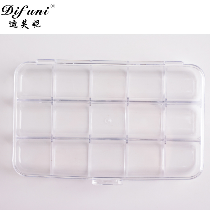 Difuni di funi nail jewelry box 15 grid 24 grid jewelry box can be put decalcomania drilling and other jewelry