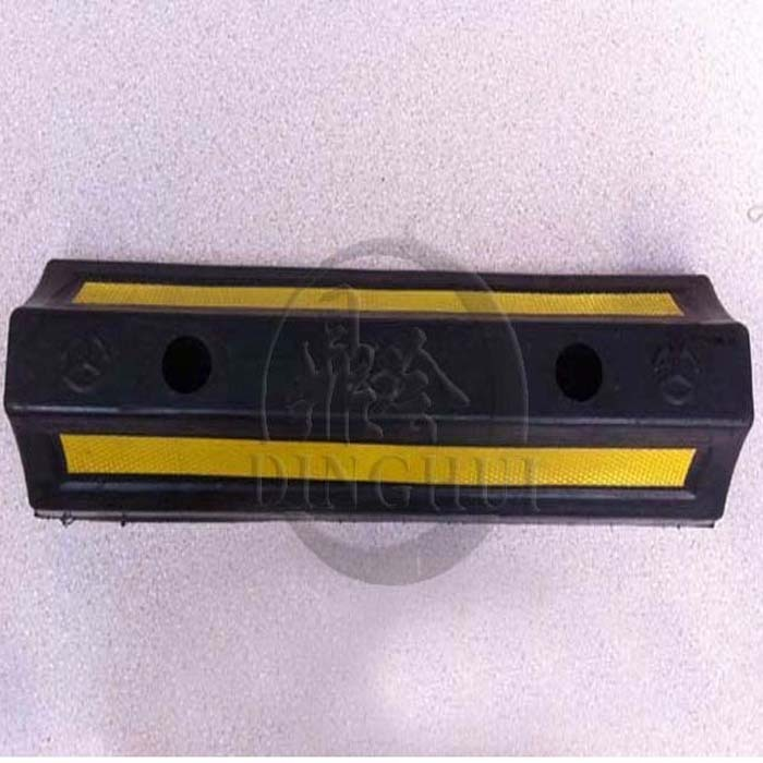 Ding will be high quality rubber wheel locator block cars rubber wheel locator reverse gear transport facilities