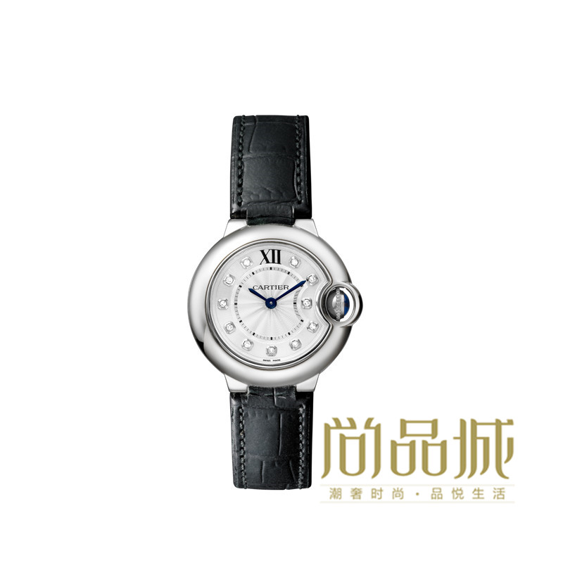Direct mail authentic cartier cartier 2016 new leather ladies watches ballon wrist table W4BB0008